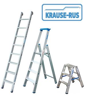Лестницы и стремянки профессиональной серии Krause Stabilo