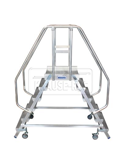Лестница с платформой двухсторонняя Krause STABILO 2х6 820266