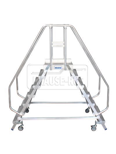 Лестница с платформой двухсторонняя Krause STABILO 2х7 820273