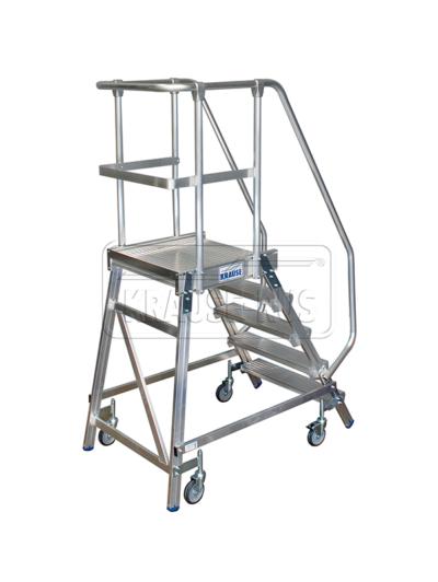 Лестница с платформой односторонняя Krause STABILO 5 ступени/820150