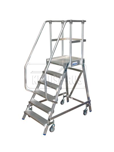 Лестница с платформой односторонняя Krause STABILO 6 ступени/820167