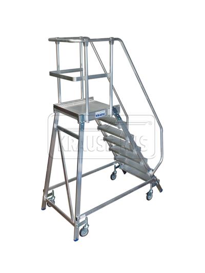 Лестница с платформой односторонняя Krause STABILO 7 ступени/820174