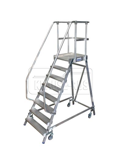 Лестница с платформой односторонняя Krause STABILO 8 ступени/ 820181