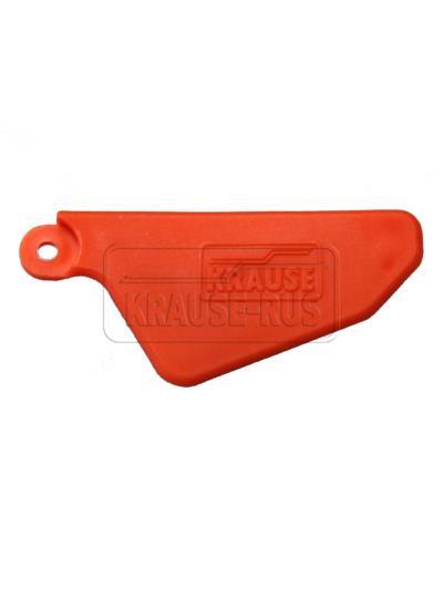 Двойные заглушки для Krause Dopplo оранжевые