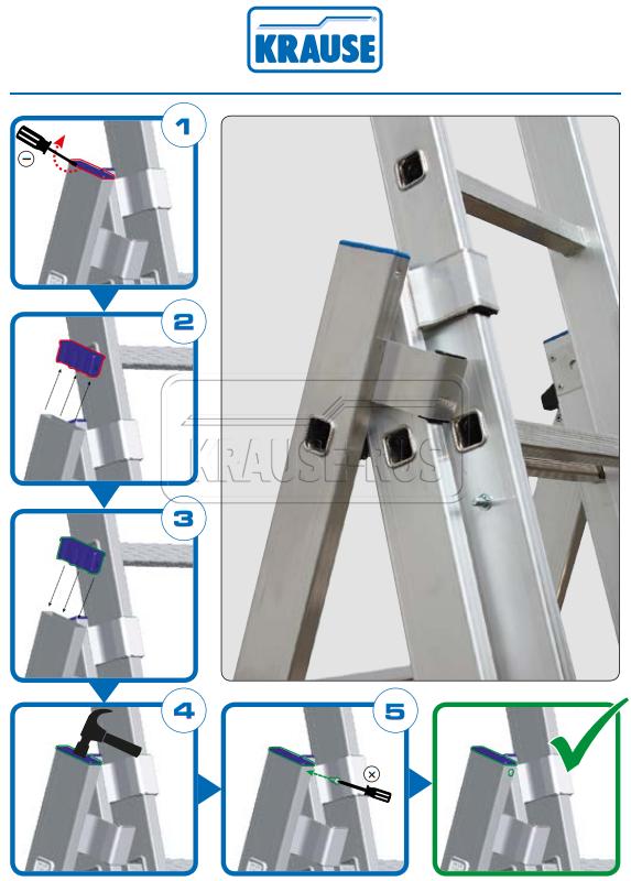 Инструкция по установке Верхние пробки Krause Инструкция по установке Верхние пробки Krause