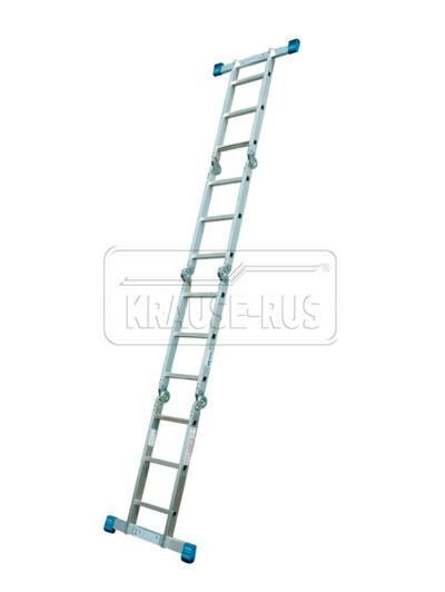 Универсальная шарнирная стремянка-трансформер Krause STABILO 4х4