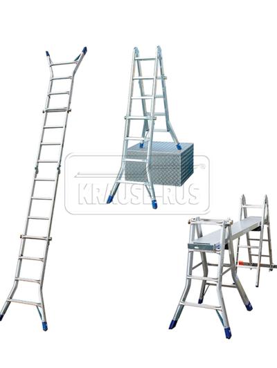 Стремянка-трансформер Krause STABILO 4х4 и Krause STABILO 4х5