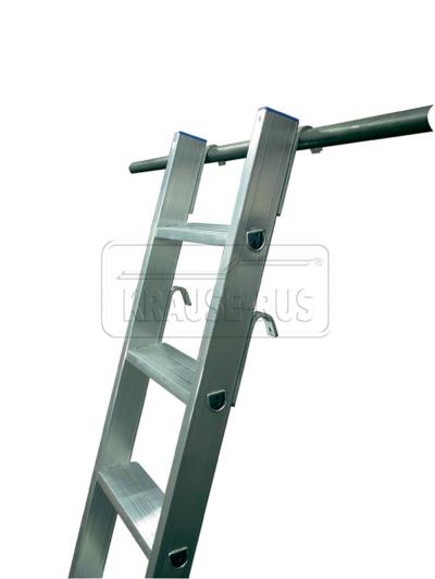 Лестница приставная со ступенями Krause STABILO 124401