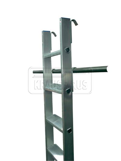 Лестница приставная со ступенями Krause STABILO