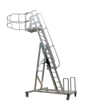 лестница передвижная боковая для автоцистерн этой