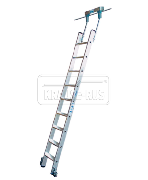 Лестница для стеллажей Krause для круглых шинных систем