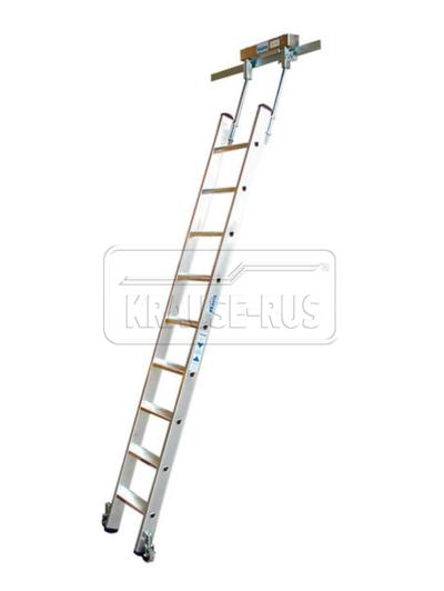 Лестница для стеллажей Krause для Т-образных шинных систем