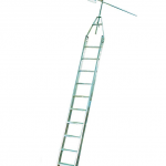 Лестница для стеллажей Krause для двухрядных стеллажей