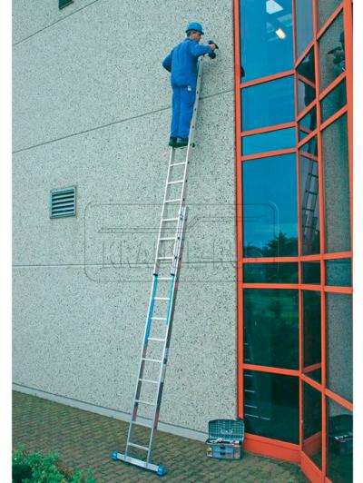 Двухсекционная лестница Krause STABILO