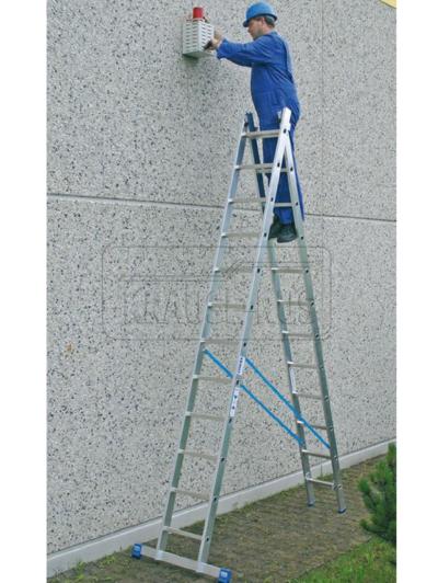 Двухсекционная лестница Krause STABILO 123213