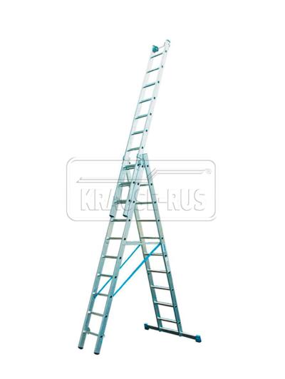 Трехсекционная лестница Krause STABILO 3×10 перекладин – артикул 123947