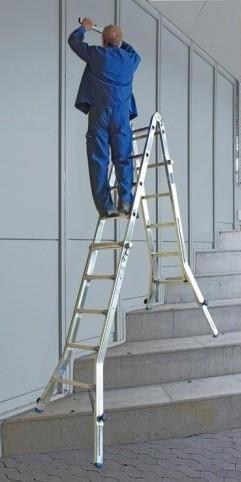 Опорные пробки Krause для шарнирно-телескопических лестниц с функцией удлинения боковин
