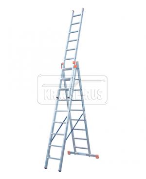 Трехсекционная лестница Krause Monto Tribilo