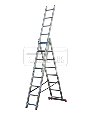 Трехсекционная лестница Krause Corda