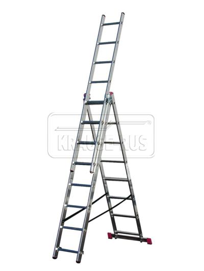 Трехсекционная лестница Krause Corda 3х8
