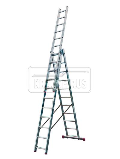 Трехсекционная лестница Krause Corda 3х11