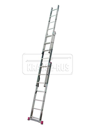 Трехсекционная лестница Krause Corda 3х7