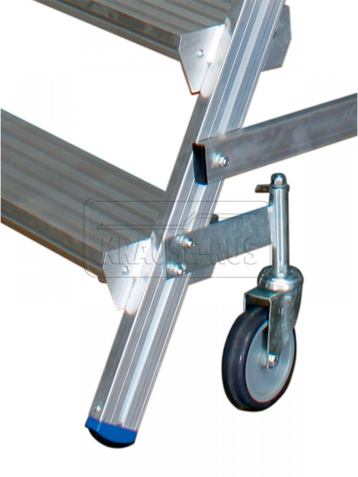 Роликовая опора Ø 125 мм для платформы Krause STABILO 820402