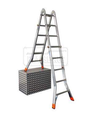 Шарнирные телескопические лестницы Krause Monto