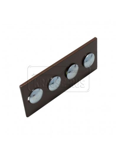 Соединительная планка для лестницы трубочиста Krause коричневый 804570