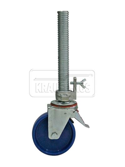 Регулируемый по высоте ролик Krause Ø 150 мм 914101