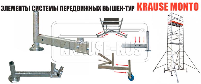 Телескопическая траверса Krause ClimTec 714022