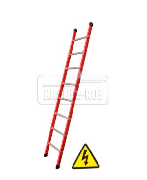 Диэлектрическая приставная лестница Krau