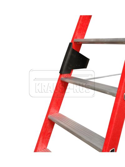 Диэлектрическая стремянка со ступенями Krause