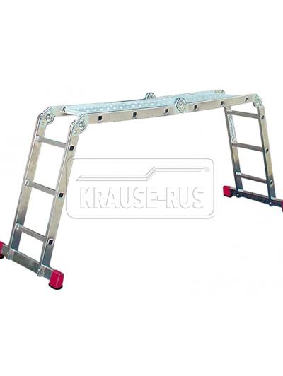Шарнирная универсальная стремянка-трансформер Krause Corda 085009