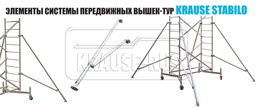 Угловая опора (алюминий) Krause 2.65 м 914095