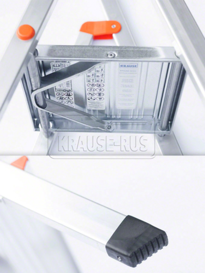 Односторонняя алюминиевая стремянка KRAUSE MONTO SOLIDY