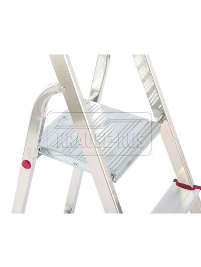 Односторонняя алюминиевая стремянка Krause Corda