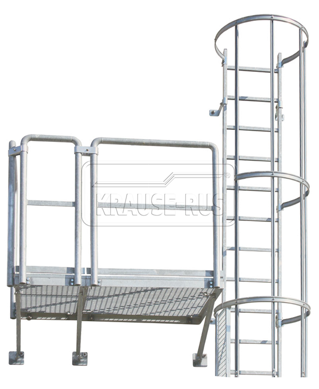 Площадка для пожарной лестницы Krause 835574