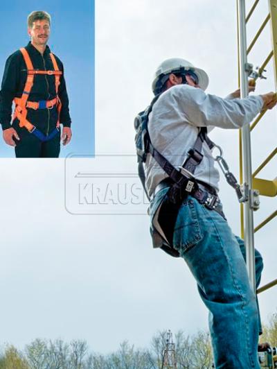 Страховочный пояс для шахтной лестницы Krause 835765