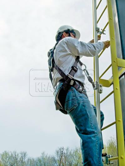 Страховочная каретка для шахтной лестницы Krause 835741
