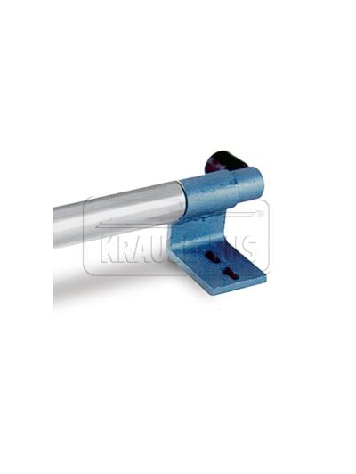 Правый кронштейн с концевым упором для стеллажных лестниц Krause 810205