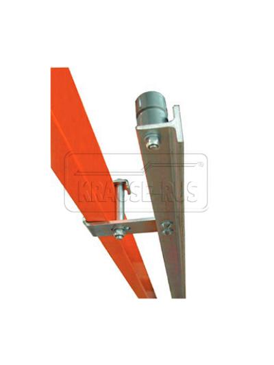 Т-образная шина оцинкованная сталь для стеллажных лестниц Krause 815200