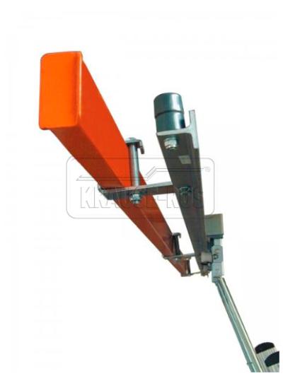 Соединительная планка для стеллажных лестниц с Т-образной шиной Krause 815279