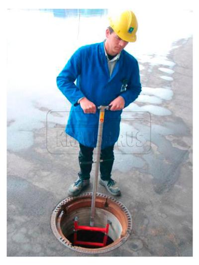 Стойка-поручень для шахтной лестницы Krause