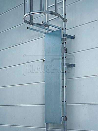 Алюминиевая дверь для пожарной лестницы Krause 835642