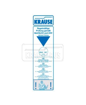 Контрольная наклейка для передвижных вышек Krause 212672