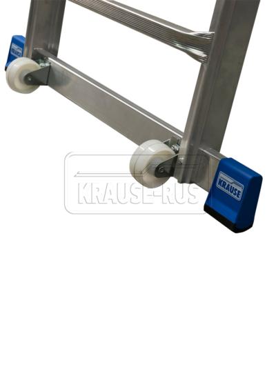 Телескопическая лестница-платформа Krause STABILO