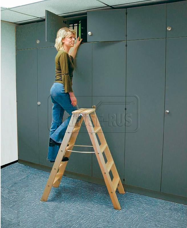Стремянка 2 ступени деревянная своими руками